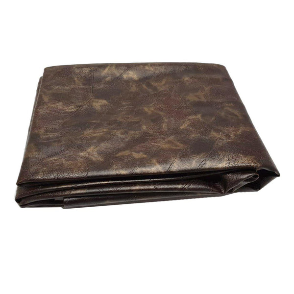 Pool Table Cover Brown Metallic 9ft-MO REPS® Fitness Store
