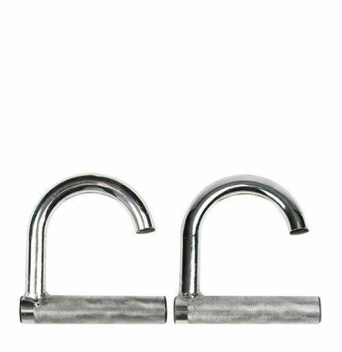 Power Band Assist Chrome Hooks (Pair)-MO REPS® Fitness Store