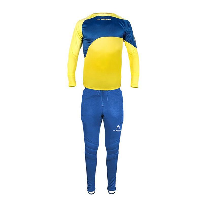 Premier Junior Goalkeeper Set - Lime & Blue-MO REPS® Fitness Store