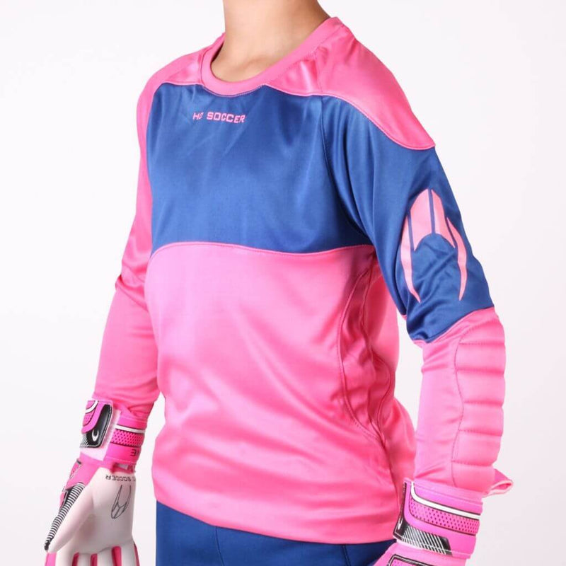 Premier Junior Goalkeeper Set - Pink & Blue-MO REPS® Fitness Store