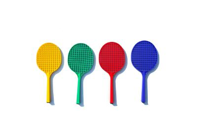 Primary Tennis Racket Plastic-MO REPS® Fitness Store