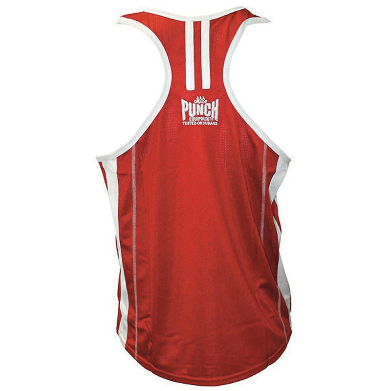 Punch Amateur Competition Boxing Singlet-MO REPS® Fitness Store