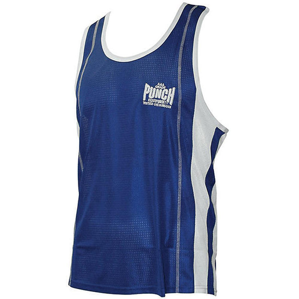 Punch Amateur Competition Boxing Singlet-XS-Blue-MO REPS® Fitness Store