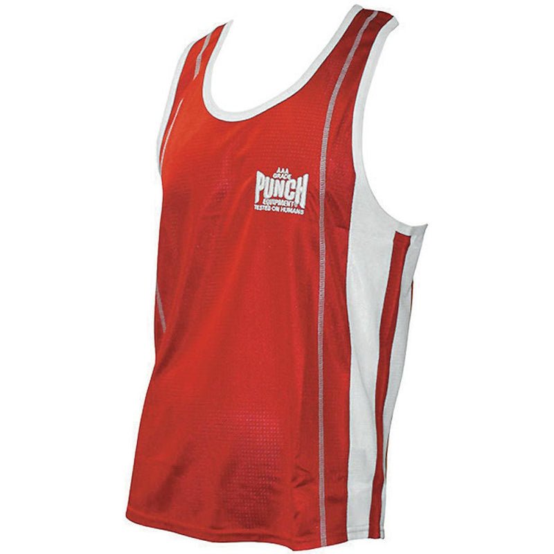 Punch Amateur Competition Boxing Singlet-XS-Red-MO REPS® Fitness Store