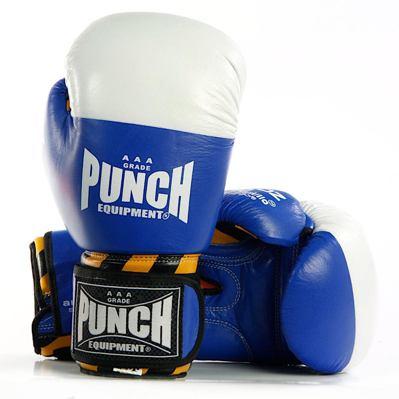 Punch Armadillo Safety Boxing Gloves V30-12oz-Blue-MO REPS® Fitness Store