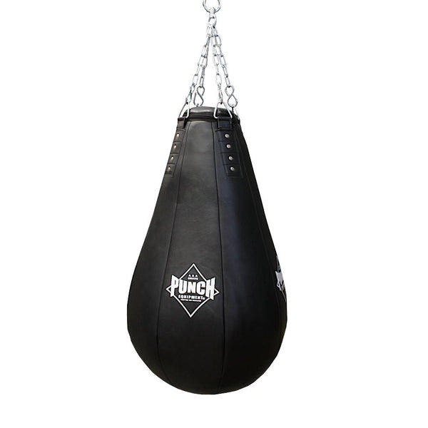 Punch Black Diamond 4FT Tear Drop Boxing Bag-MO REPS® Fitness Store