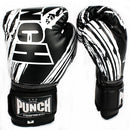 Punch Kids / Junior AAA Boxing Gloves 6oz-Black-MO REPS® Fitness Store