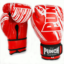 Punch Kids / Junior AAA Boxing Gloves 6oz-Red-MO REPS® Fitness Store