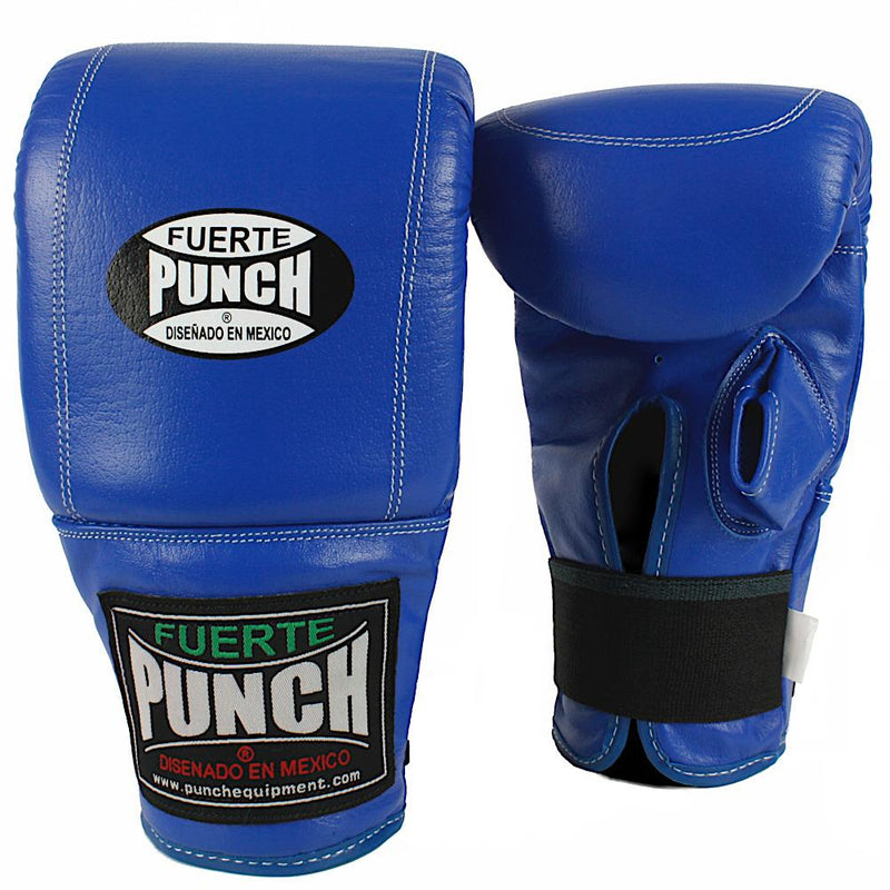 Punch Mexican Fuerte Boxing Bag Mitts-Blue-MO REPS® Fitness Store