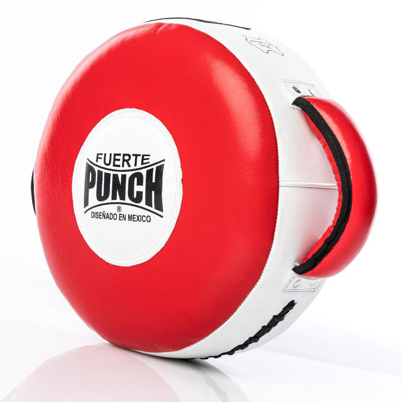 Punch Mexican Fuerte Round Boxing Shield-MO REPS® Fitness Store