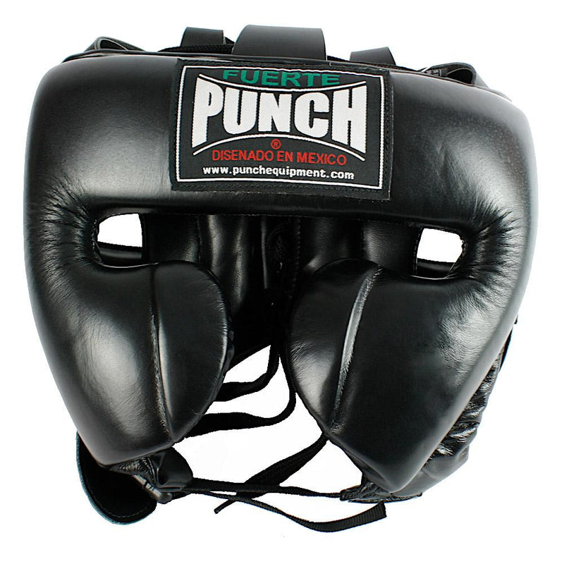 Punch Mexican Fuerte Ultra Boxing Headgear-M-Black-MO REPS® Fitness Store