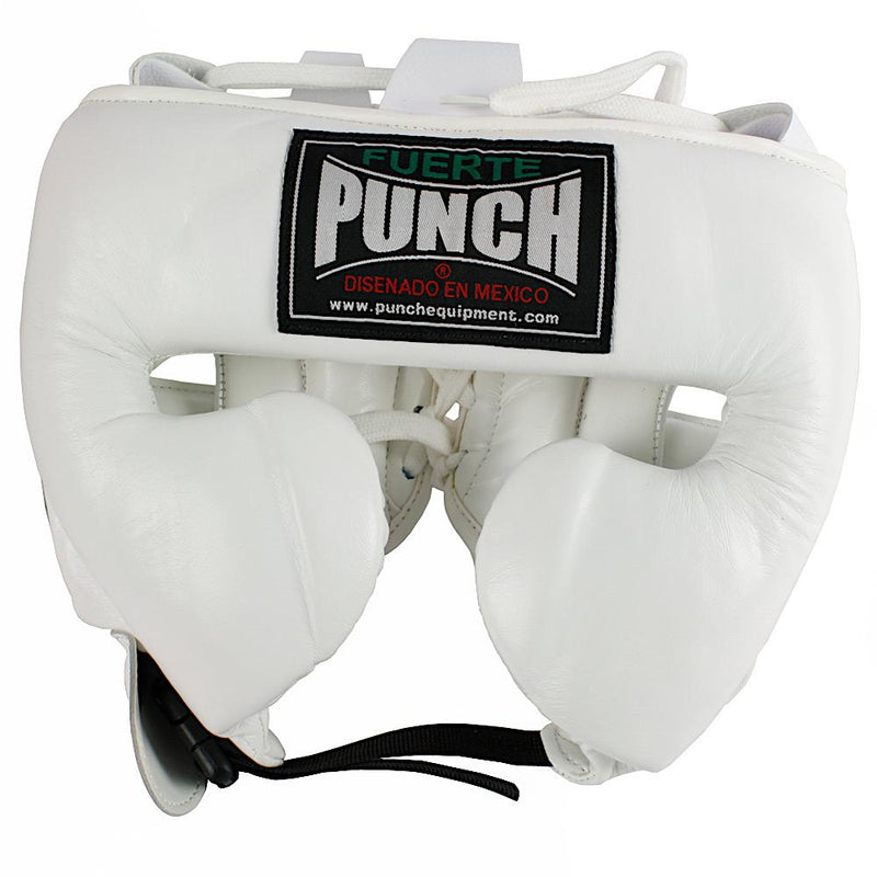 Punch Mexican Fuerte Ultra Boxing Headgear-M-White-MO REPS® Fitness Store