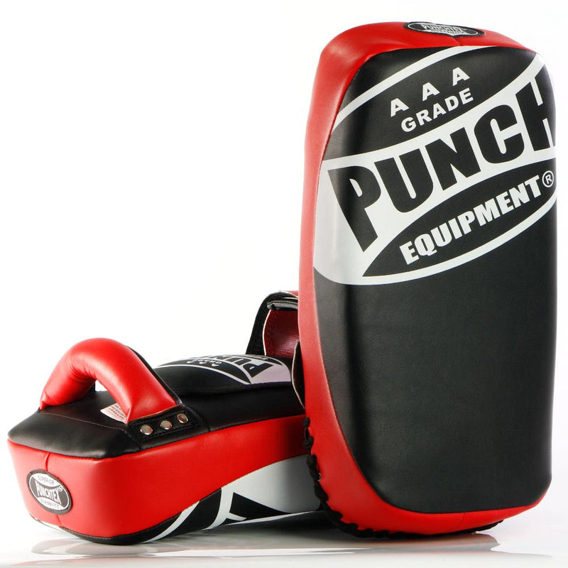 Punch Muay Thai Pads Curved-Red-MO REPS® Fitness Store