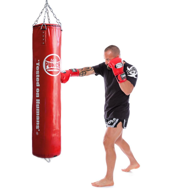 Punch Trophy Getters Boxing Bag 4ft V30-Red-MO REPS® Fitness Store