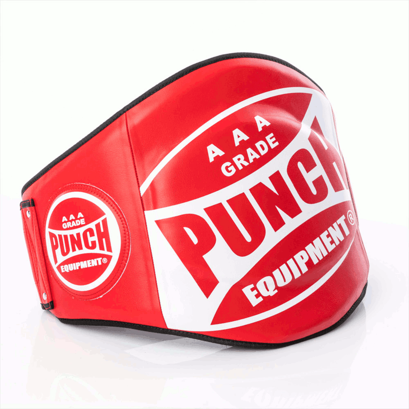 Punch Trophy Getters Boxing Belly Pad-Red-MO REPS® Fitness Store