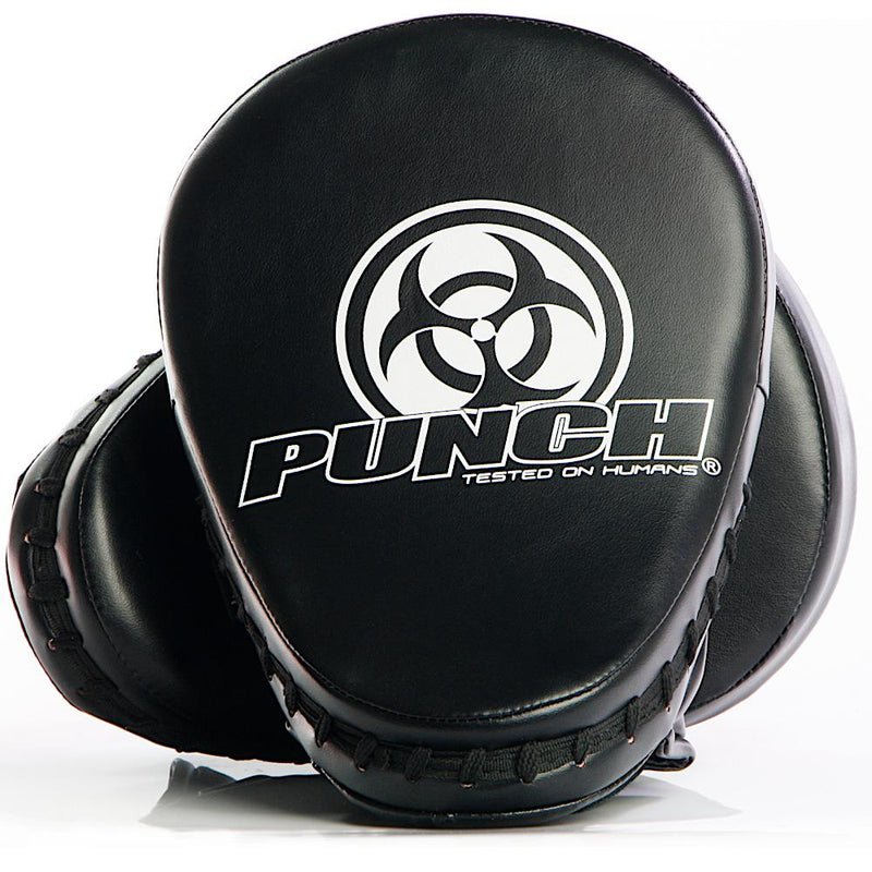 Punch Urban Boxing Focus Pads V30 - Easy On/Off-Black (Standard)-MO REPS® Fitness Store