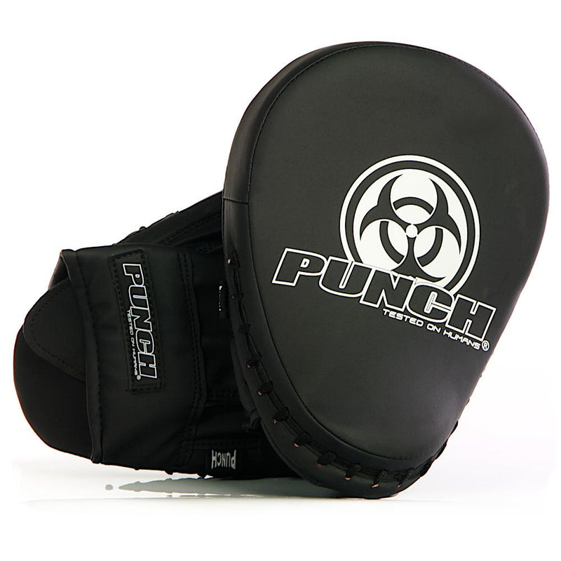Punch Urban Boxing Focus Pads V30 - Easy On/Off-Matte Black-MO REPS® Fitness Store