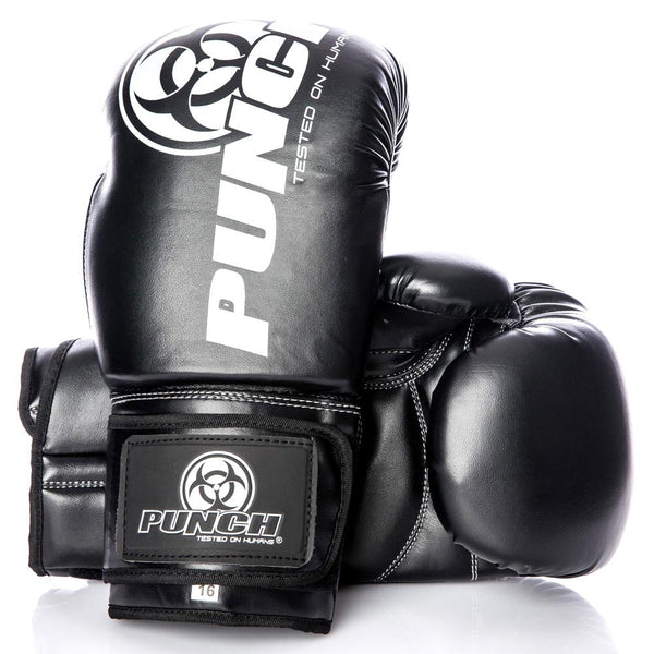 Punch Urban Boxing Gloves V30-10oz-BlackWhite-MO REPS® Fitness Store