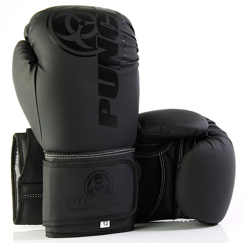 Punch Urban Boxing Gloves V30-12oz-Black (Matte)-MO REPS® Fitness Store