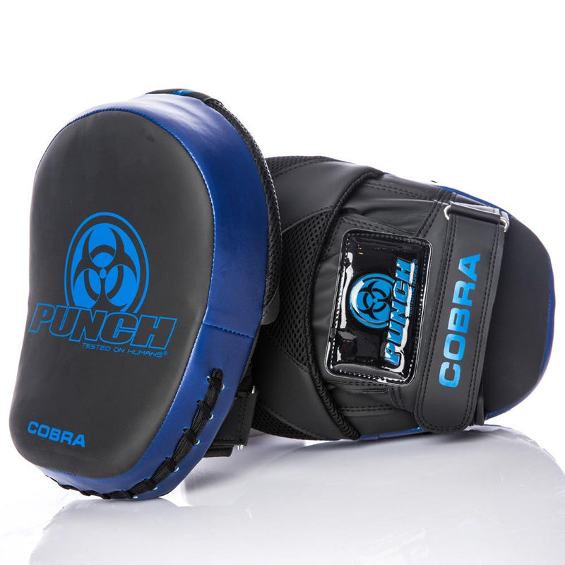 Punch Urban Cobra Boxing Focus Pads V30-Blue-MO REPS® Fitness Store