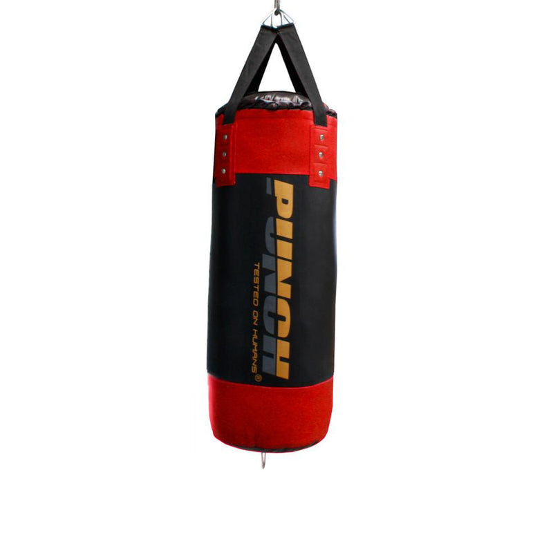 Punch Urban Home Gym Boxing Bag 3ft V30-Red-MO REPS® Fitness Store