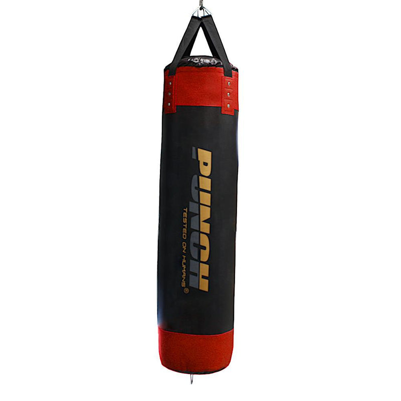 Punch Urban Home Gym Boxing Bag 5ft V30-Red-MO REPS® Fitness Store