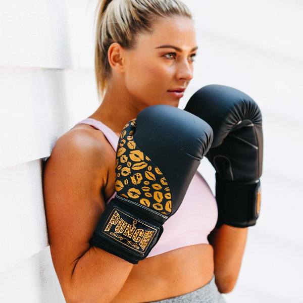 Punch Womens Boxing Gloves - Lip Art-MO REPS® Fitness Store