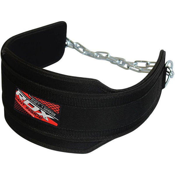RDX 6DP Weight Training Dipping Belt with Chain-MO REPS® Fitness Store