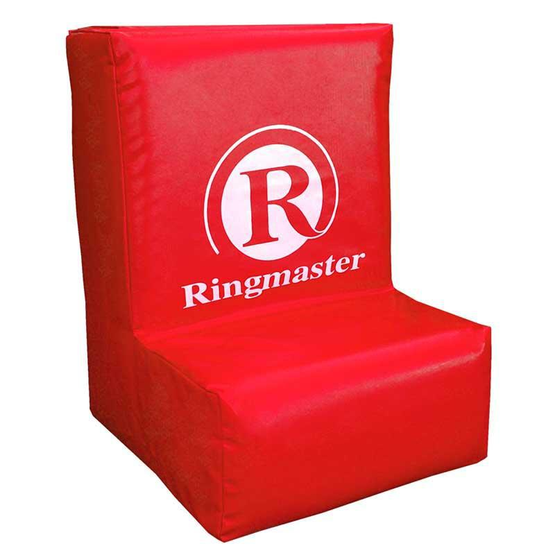 Ringmaster Mobile Ruck Bag with Ledge for Rugby, Football-Red-MO REPS® Fitness Store