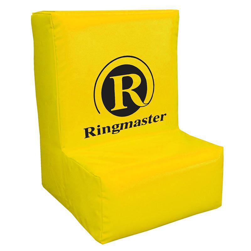 Ringmaster Mobile Ruck Bag with Ledge for Rugby, Football-Yellow-MO REPS® Fitness Store