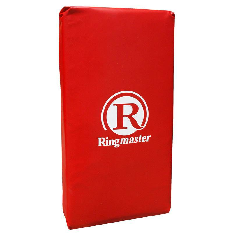 Ringmaster Straight Extra Large Bump Pad / Hit Shield-Red-MO REPS® Fitness Store