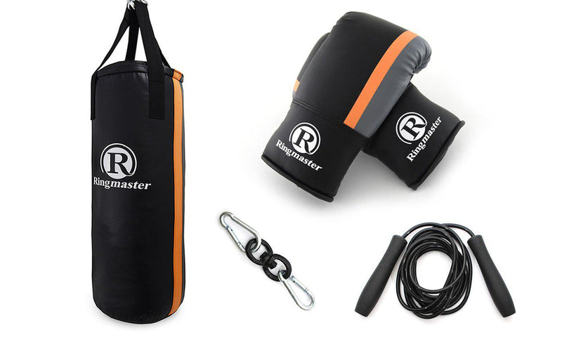 Ringmaster Typhoon Punch Bag Kit-Orange-MO REPS® Fitness Store