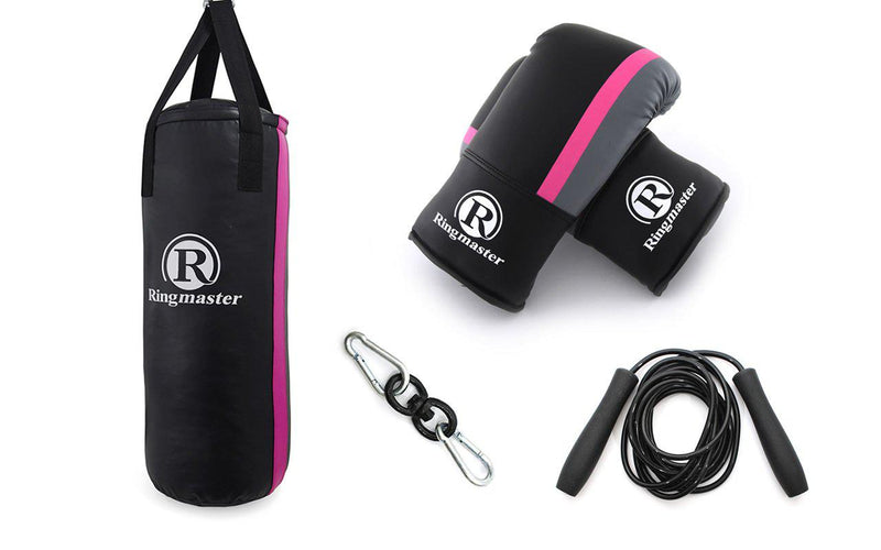 Ringmaster Typhoon Punch Bag Kit-Pink-MO REPS® Fitness Store