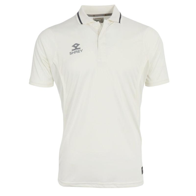 Shrey Premium Short Sleeve Cricket Shirt-MO REPS® Fitness Store