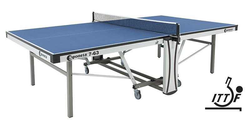 Sponeta Indoor S7-63 Ittf Table Tennis Table-MO REPS® Fitness Store