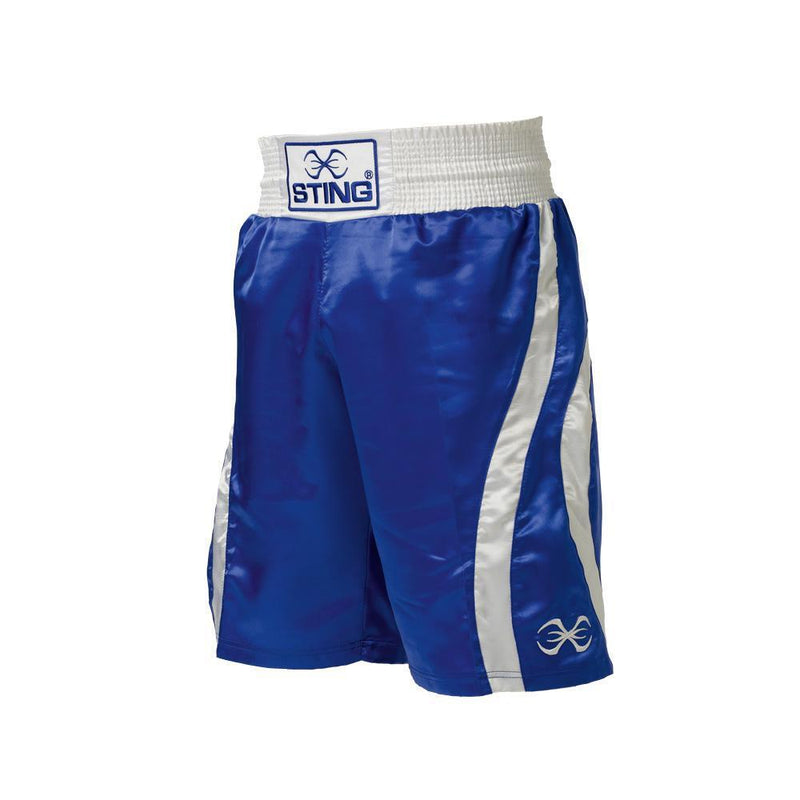 Sting Amateur Style Box Shorts-BLUE-XXS-MO REPS® Fitness Store
