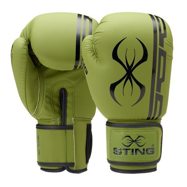 Sting Armaplus Boxing Gloves-OLIVE-12OZ-MO REPS® Fitness Store