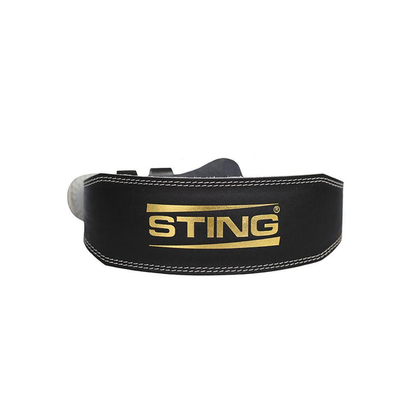Sting Eco Leather Lifting Belt - 4 Inch-S-MO REPS® Fitness Store