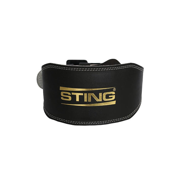 Sting Eco Leather Lifting Belt - 6 Inch-S-MO REPS® Fitness Store