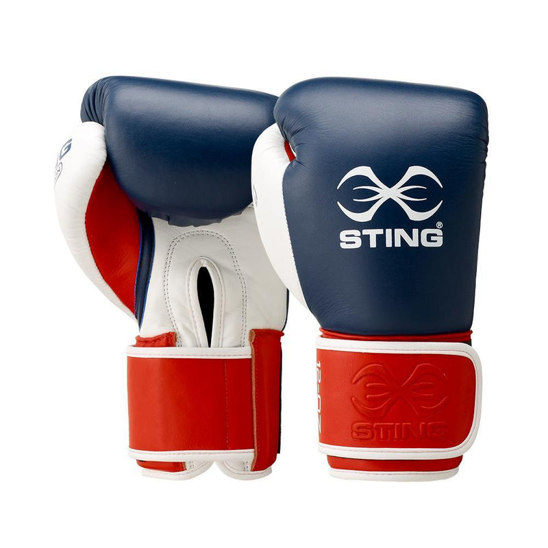 Sting Evolution Boxing Gloves-10OZ-NAVY-MO REPS® Fitness Store