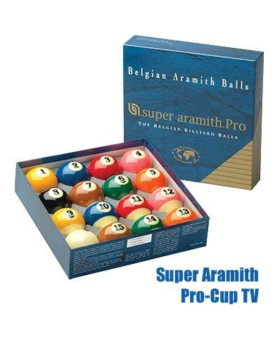 Super Aramith Pro-Cup Pool Ball TV set-MO REPS® Fitness Store