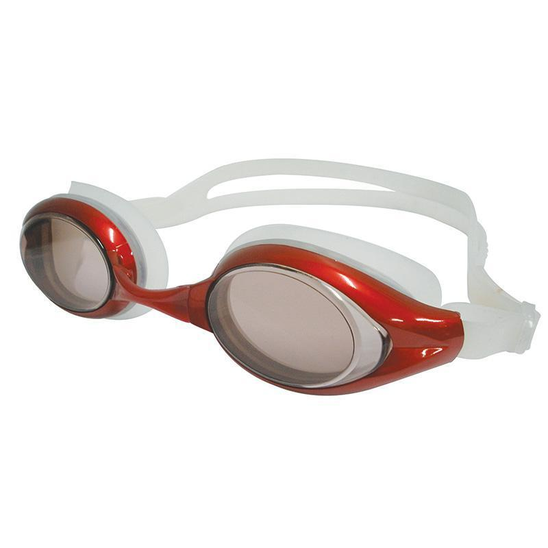 Swimfit Goggles - Senior Cyclone-Smoke/Red/Clear-MO REPS® Fitness Store