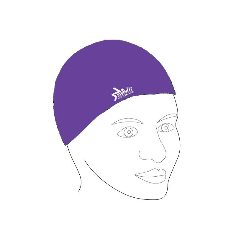 Swimfit Swim Cap - Silicone-Purple-MO REPS® Fitness Store
