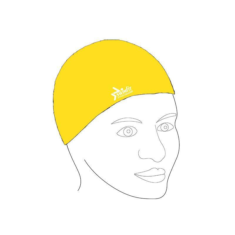 Swimfit Swim Cap - Silicone-Yellow-MO REPS® Fitness Store