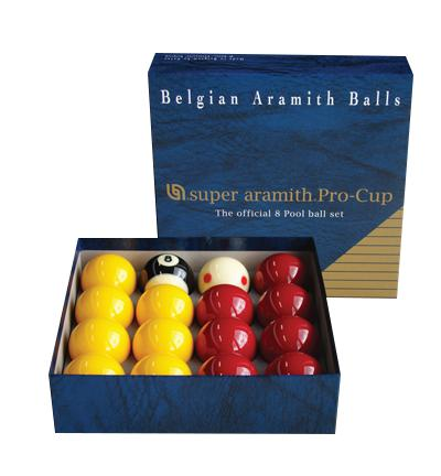 The Official 8 Pool Ball Set - Super Aramith Pro-Cup-MO REPS® Fitness Store