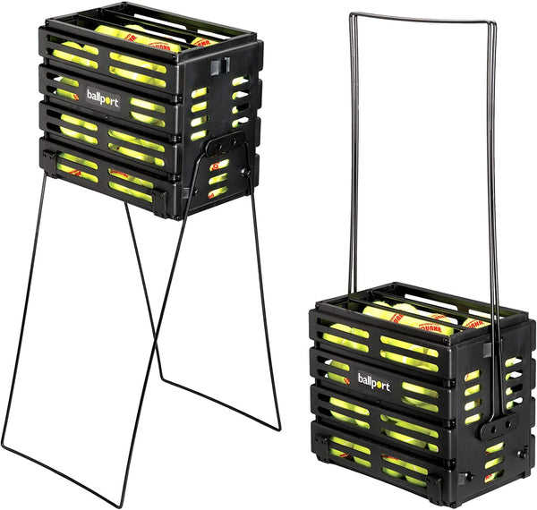 Tourna Ballport Tennis Basket (Holds 80 Balls)-MO REPS® Fitness Store