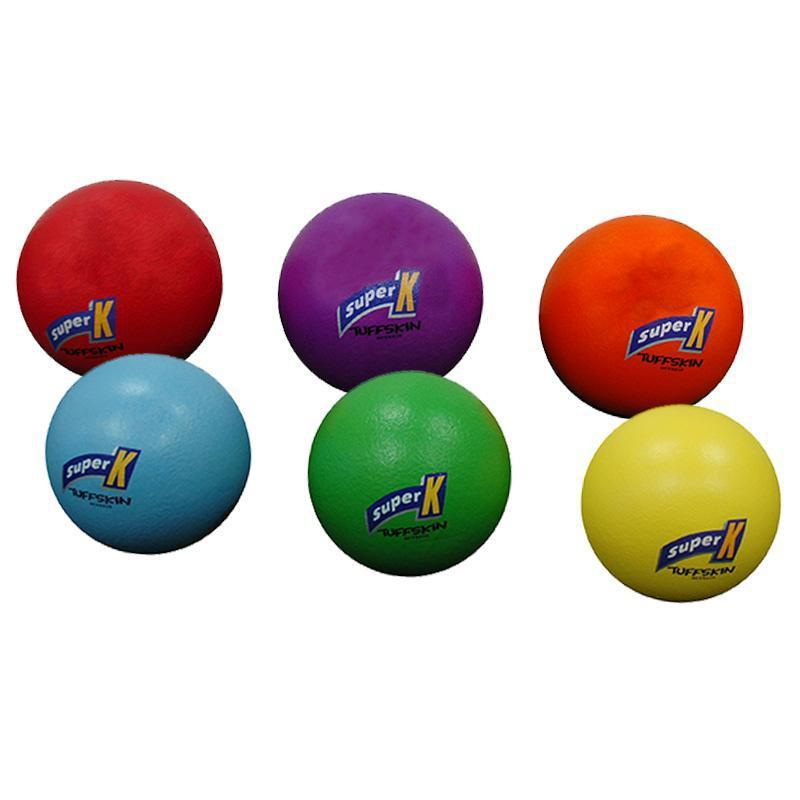 Tuff Skin Foam Ball 210mm - Set Of 6 Colours-MO REPS® Fitness Store