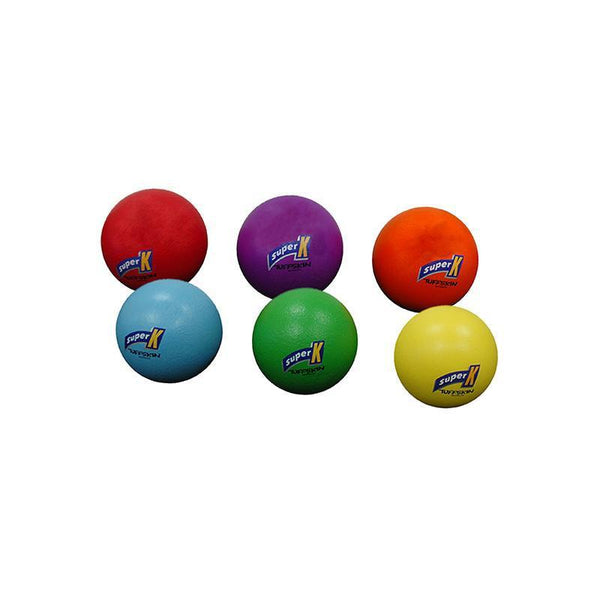 Tuff Skin Foam Ball 90mm - Set Of 6 Colours-MO REPS® Fitness Store