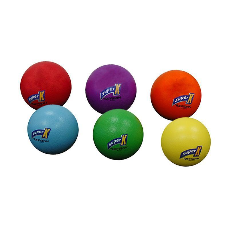 Tuff Skin Foam Balls 160mm - Set Of 6 Colours-MO REPS® Fitness Store