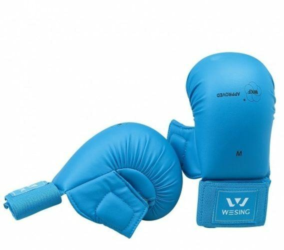 Wesing WKF Approved Karate Gloves with Thumb Protection-MO REPS® Fitness Store